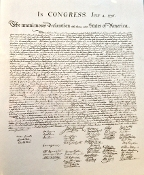 Poster - Declaration of Independence Large