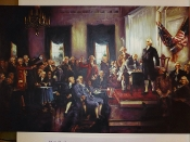 Poster - Constitution Signers